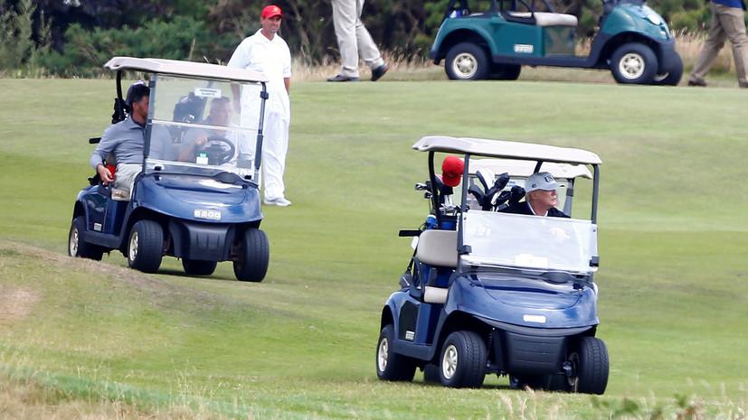 ВВС перехватили легкомоторный самолёт над гольф-клубом Трампа в Нью-Джерси