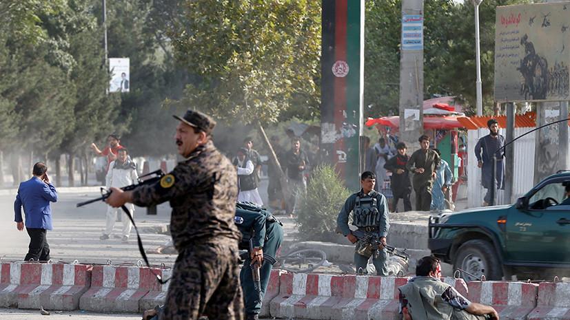 Около аэропорта Кабула произошёл взрыв сразу после прибытия вице-президента Афганистана