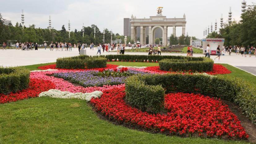 Отреставрирован павильон Украина наВДНХ
