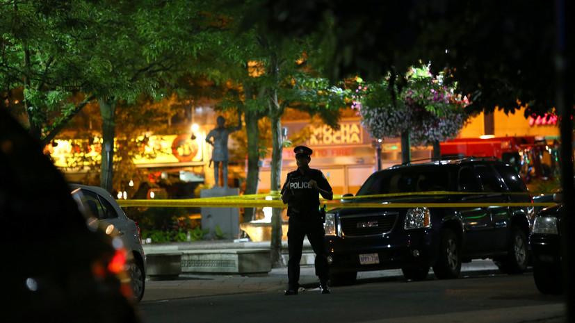 В Торонто девять человек получили ранения в результате стрельбы
