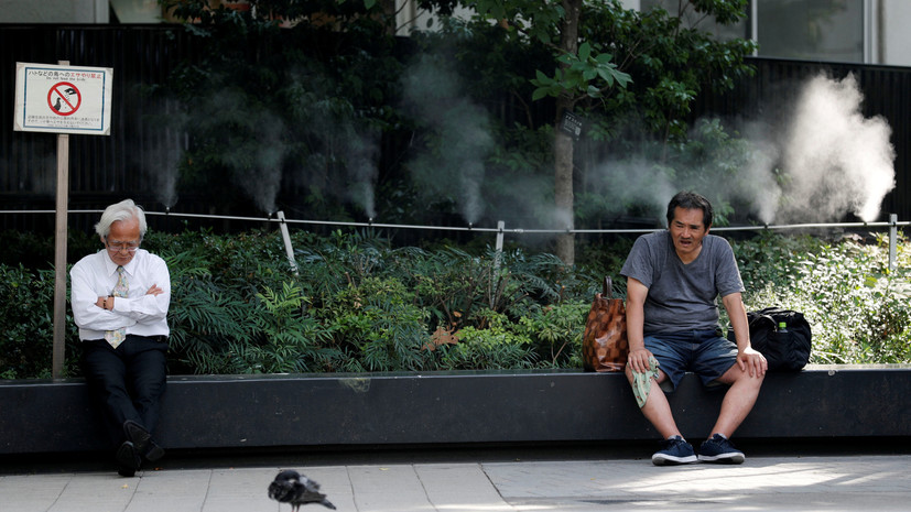 В Токио зафиксировали рекордную жару за всю историю наблюдений