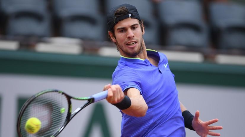 Хачанов опустился на 35-е место в мировом рейтинге теннисистов ATP