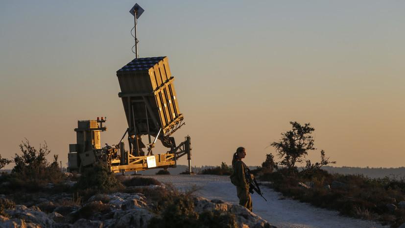Израильская армия заявила о перехвате ракет, запущенных в ходе внутренних боёв в Сирии