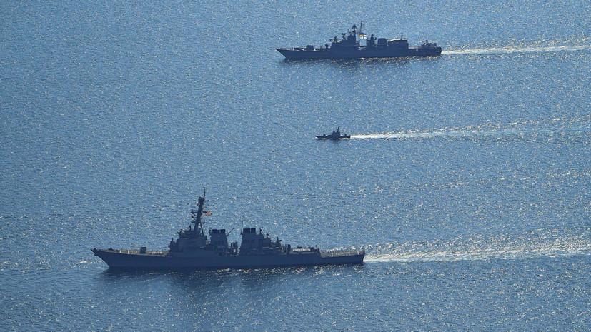 Корабли постоянной военно-морской группы НАТО зашли в Одесский порт