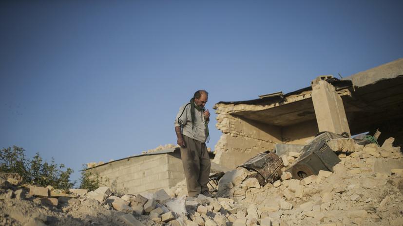 Число пострадавших при землетрясении в Иране увеличилось до 337