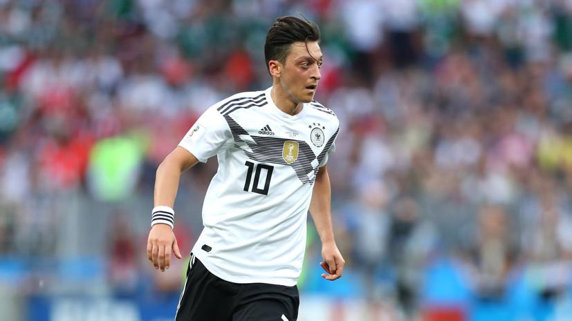 Меркель с уважением отнеслась к решению Озила завершить выступления за сборную Германии