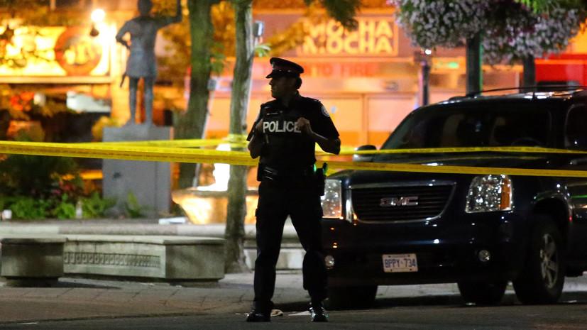 Число погибших в результате стрельбы в Торонто увеличилось до двух