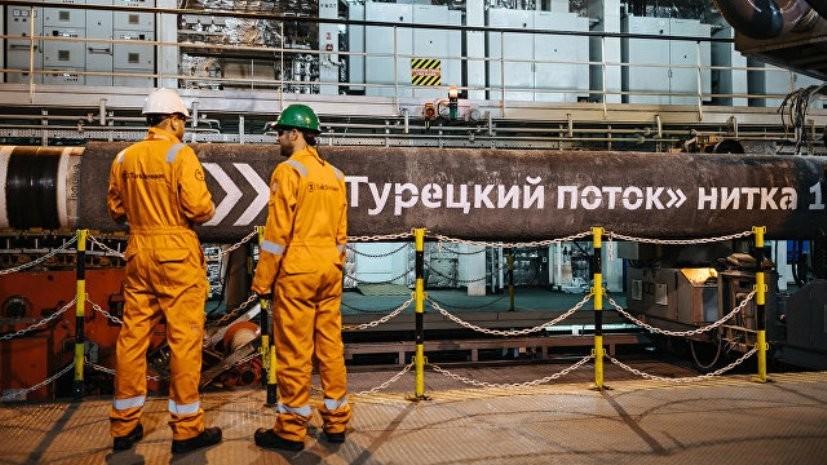 Оператор «Турецкого потока» начал работы по соединению морского и сухопутного участков