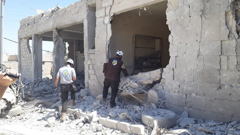 Франция примет часть эвакуированных из Сирии активистов «Белых касок»