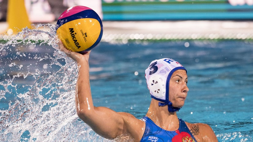 Женская сборная России по водному поло уступила Греции в 1/4 финала чемпионата Европы