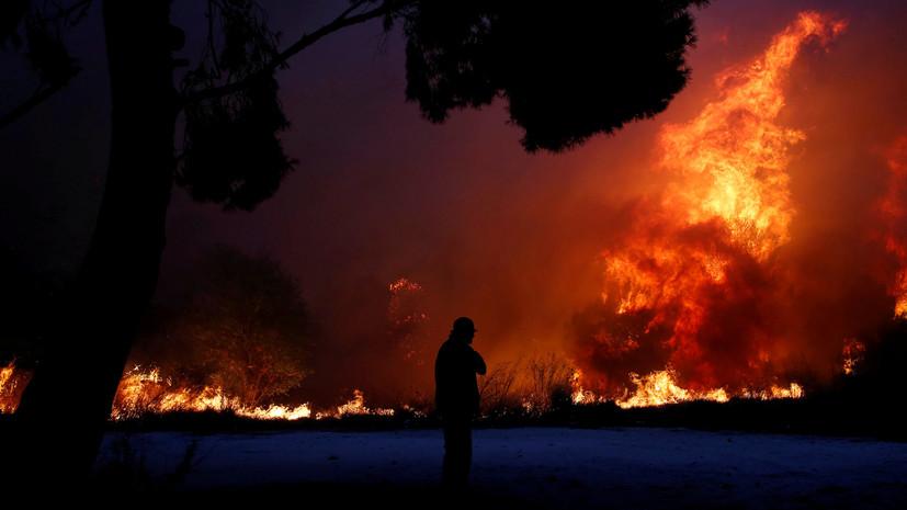 Число погибших при пожарах в Греции увеличилось до 50