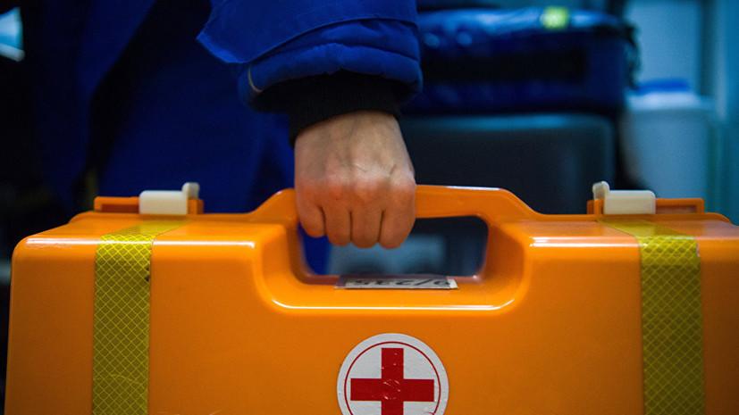 На Украине при столкновении локомотива с поездом пострадали 26 человек