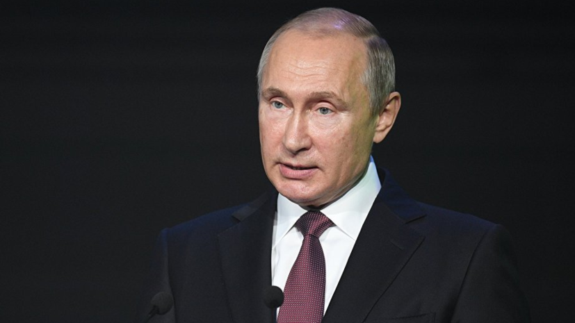 Путин поручил проработать вопрос строительства моста на Сахалин