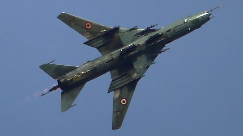 Армия Израиля сообщила об уничтожении самолёта ВВС Сирии