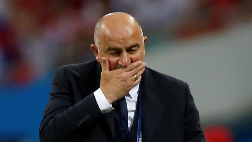 Черчесов номинирован на премию «Тренер года» по версии ФИФА