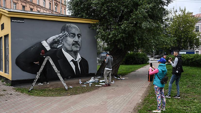 В Петербурге предложили законодательно поддержать художников-граффитистов