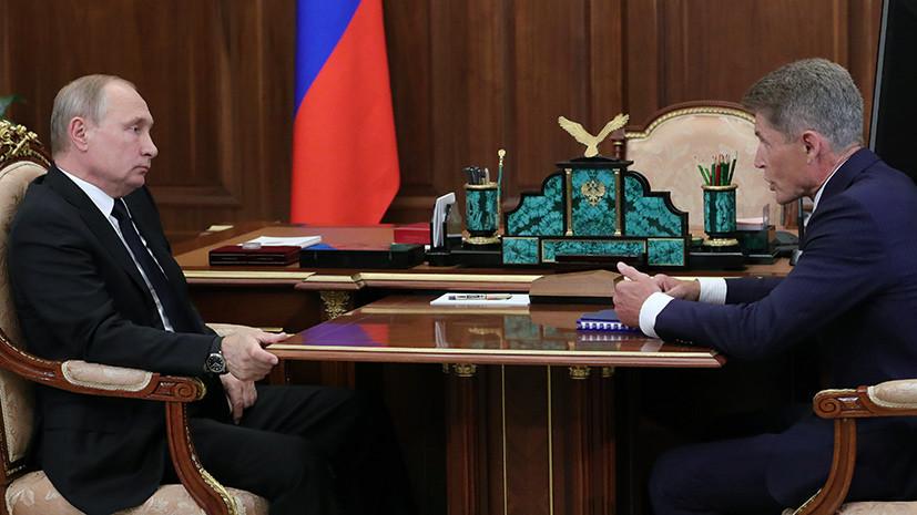 Губернатор Сахалинской области рассказал о значимости строительства моста на остров