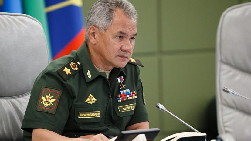 Шойгу рассказал об увеличении числа боевой авиации на учениях НАТО