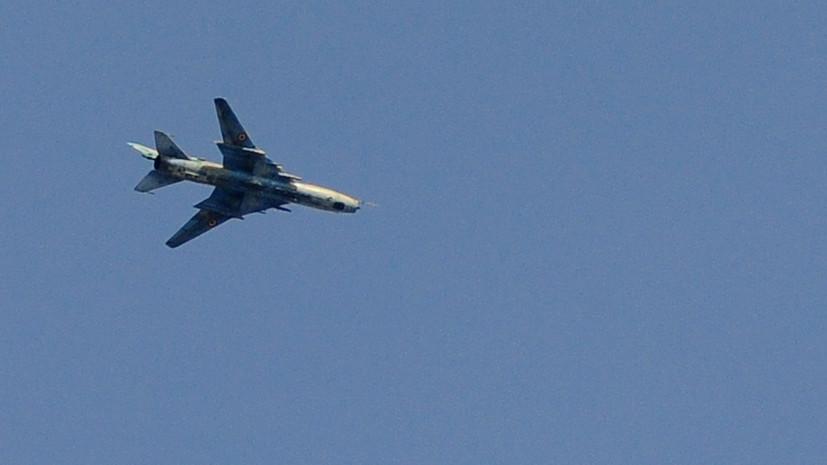 СМИ: Пилот сбитого израильскими военными сирийского самолёта погиб