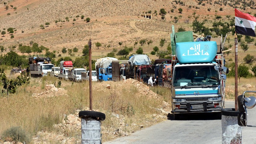 В Сирию за сутки вернулись более двух тысяч беженцев с территории Ливана