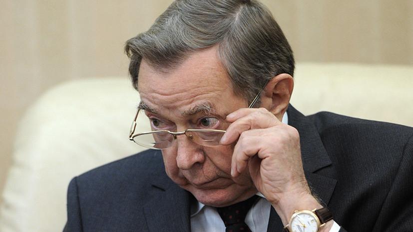 Путин выразил соболезнования в связи со смертью Вениамина Яковлева