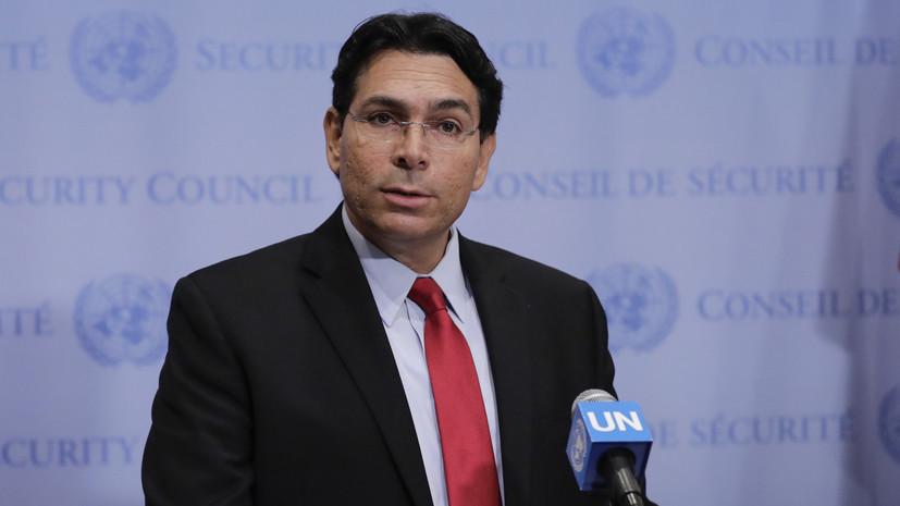 Постпред Израиля при ООН рассказал о причине нанесения удара по сирийскому самолёту