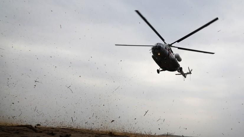 Вертолёт Ми-8 со спасателями вылетел в Томск на поиски пропавшего легкомоторного самолёта