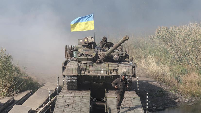 В ДНР заявили, что украинские силовики обстреляли позиции нацбатальонов