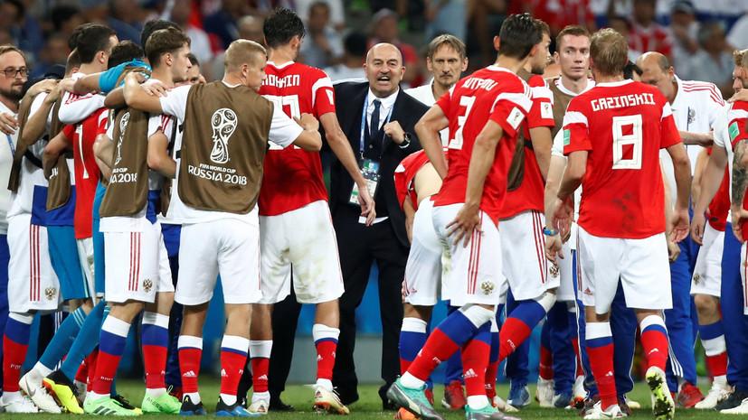 Симонян: Черчесов продолжит работу со сборной России по футболу