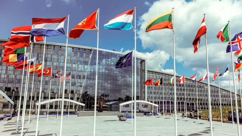 НАТО провела переговоры свластями Македонии повступлению в союз