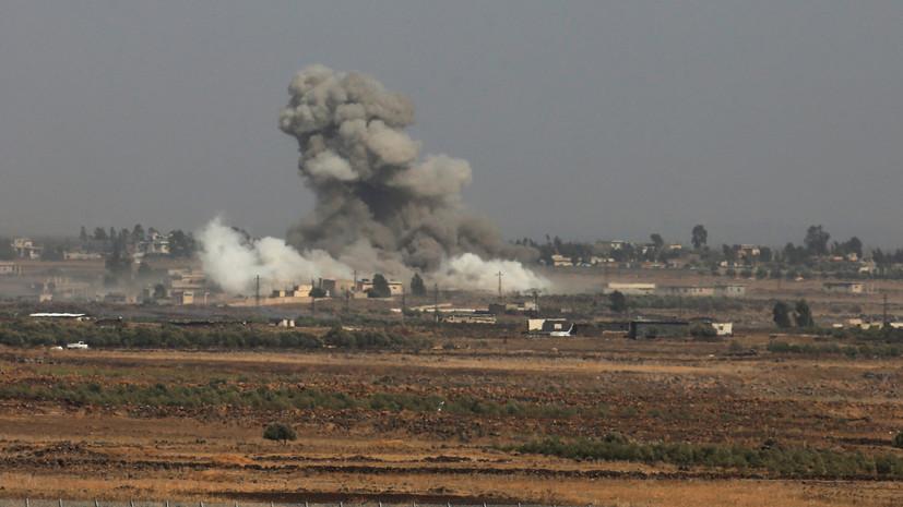 В Израиле заявили, что сирены сработали из-за выпущенной на территории Сирии ракеты