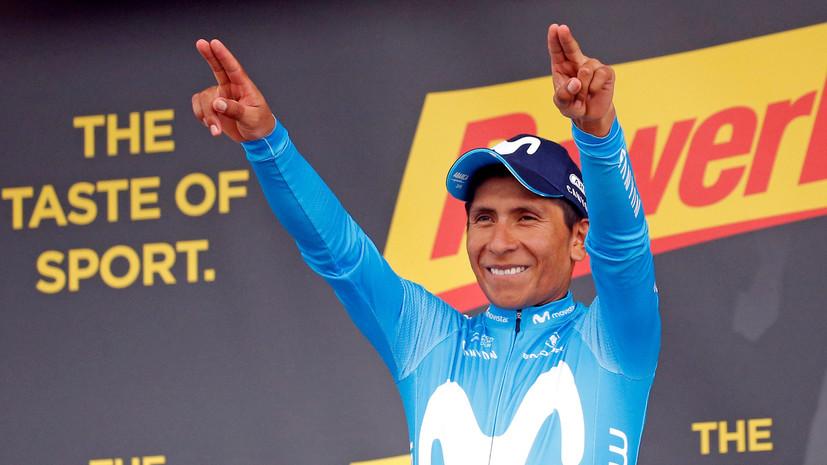 Колумбиец Кинтана стал победителем 17-го этапа веломногодневки «Тур де Франс»