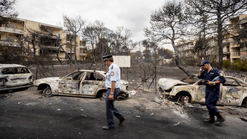 В Совфеде выразили соболезнования в связи с гибелью людей в лесных пожарах в Греции