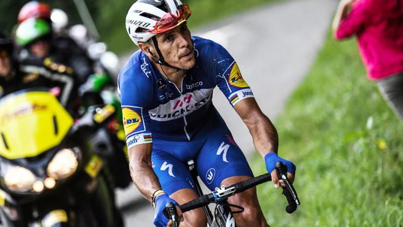 Жильбер проехал почти 60 км на этапе «Тур де Франс» с переломом коленной чашечки