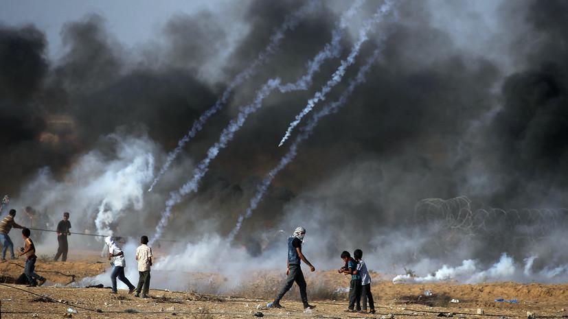 Трое палестинцев погибли при обстреле израильскими военными на границе сектора Газа