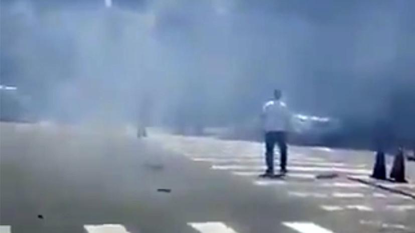 СМИ: Взрыв произошёл у здания посольства США в Пекине