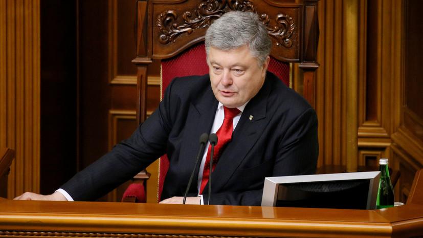 Порошенко заявил об успешном этапе испытаний снарядов для артиллерийской системы «Гиацинт»