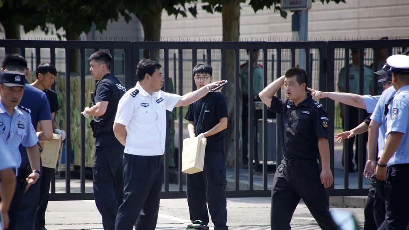 Сотрудники посольства США в Пекине не пострадали при взрыве у дипмиссии