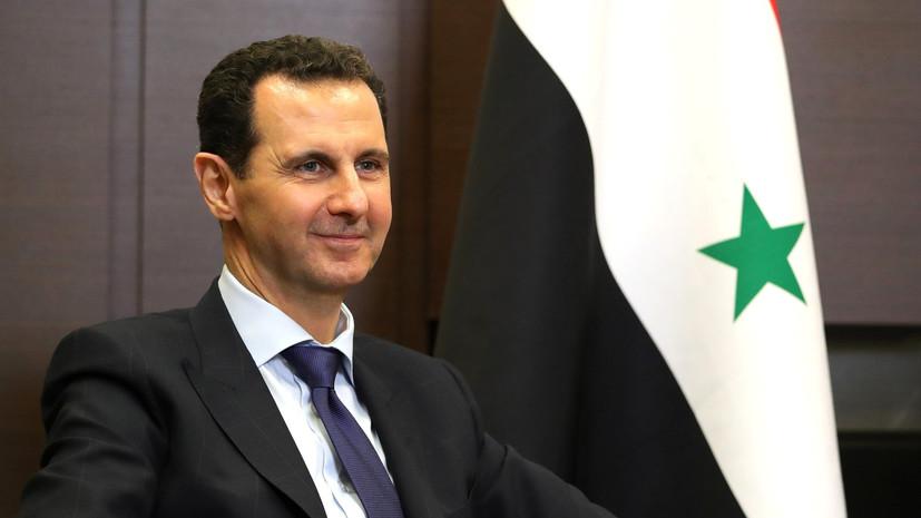Представители России обсудили с Асадом текущую ситуацию в Сирии
