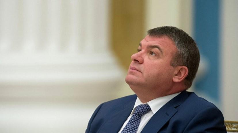 Сердюков прокомментировал сообщения о свадьбе с Васильевой