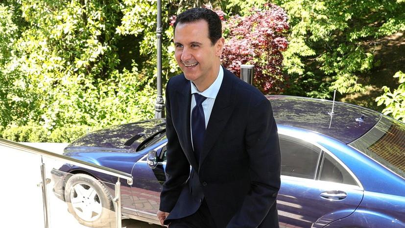 Асад рассказал, что в детстве мечтал стать лётчиком