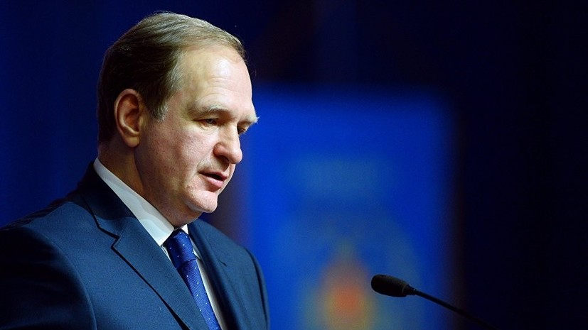 Следствие предъявило обвинение бывшему замглавы МЧС Шлякову