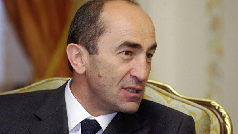 Бывшему президенту Армении предъявлено обвинение в свержении конституционного строя