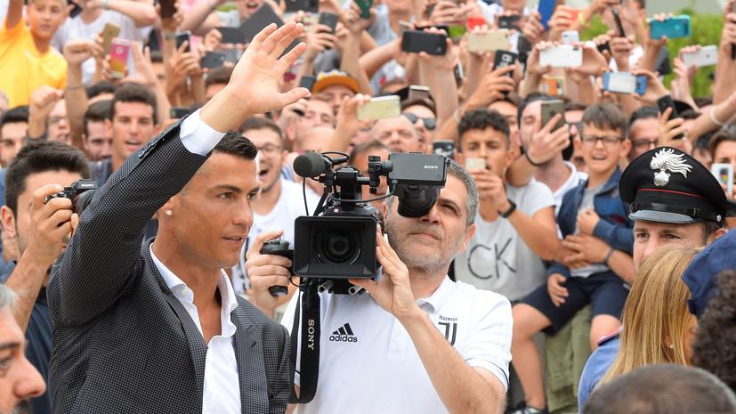 Роналду может дебютировать за «Ювентус» в официальных матчах в игре с «Кьево»