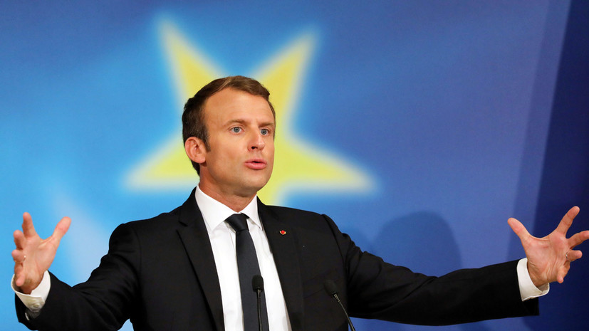 Макрон заявил о несогласии с переговорами ЕС — США о большом торговом соглашении