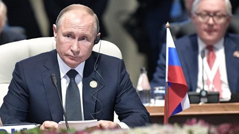Путин сообщил о проработке идеи саммита Россия — Африка