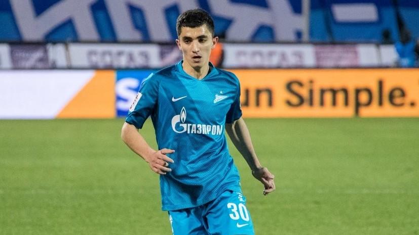 «Рубин» арендовал футболиста Цаллагова у «Зенита»