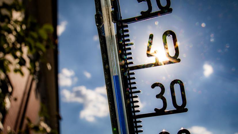 В Оренбургской области сохраняется аномально жаркая погода