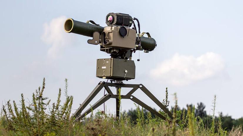 На Украине испытали противотанковые управляемые ракеты