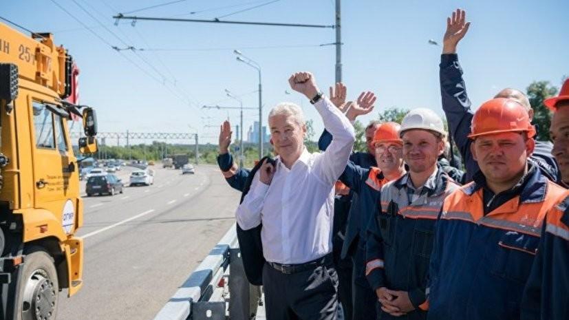 На Калужском шоссе в Москве открыли движение по разворотному тоннелю
